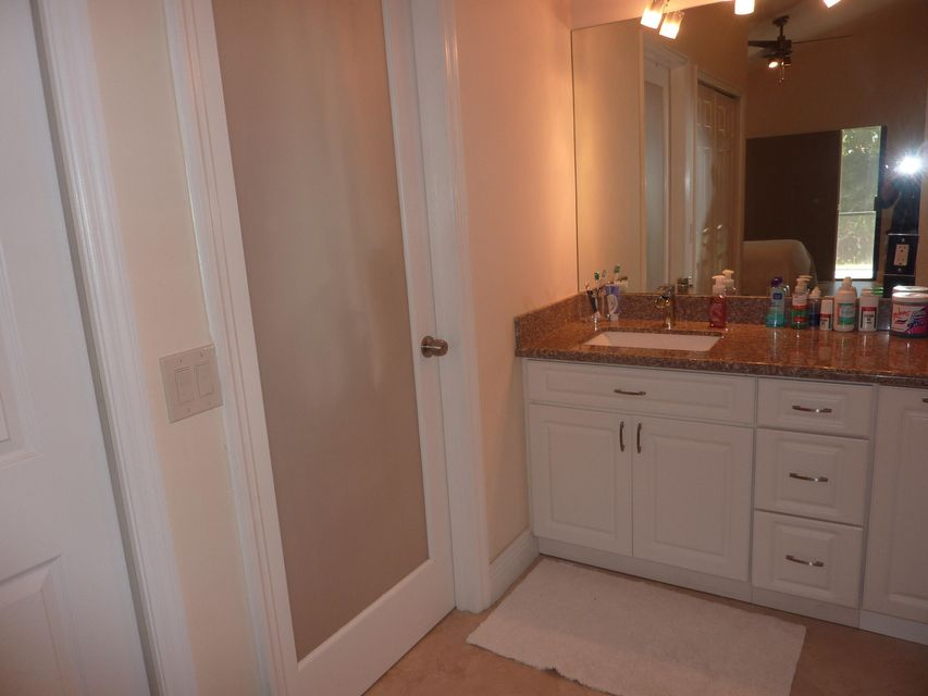 Master dressing area door shower