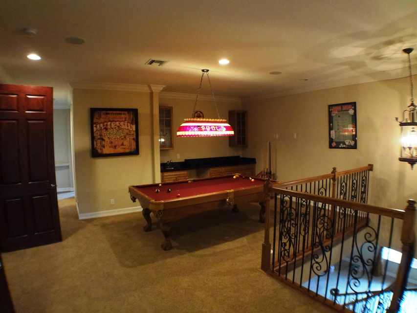 Loft Pool Table and Bar