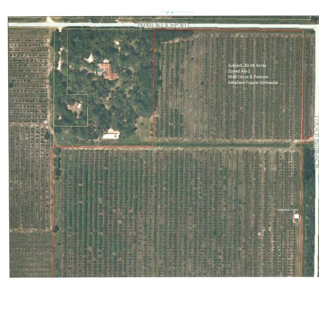 Additional photo for property listing at 8401 Immokolee Road 8401 Immokolee Road Fort Pierce, Florida 34951 United States