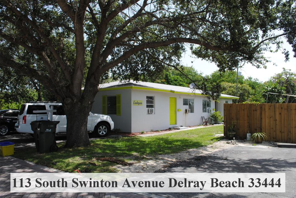 Duplex for Sale at 113 Swinton Avenue 113 Swinton Avenue Delray Beach, Florida 33444 United States