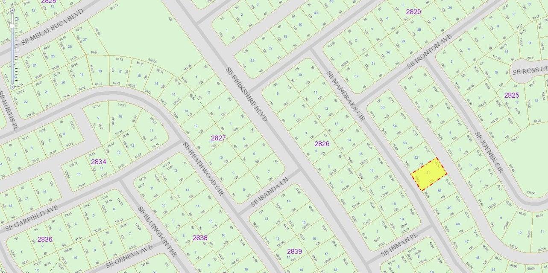 Частный односемейный дом для того Продажа на 2214 SE Mandrake Circle Port St. Lucie, Florida 34952 United States