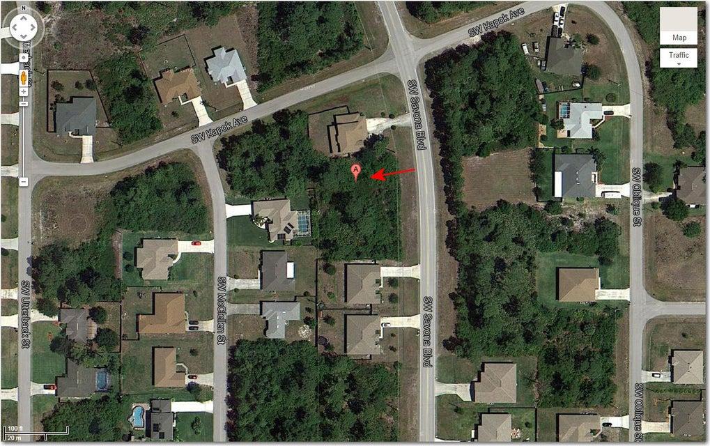 Land für Verkauf beim 4208 SW Savona 4208 SW Savona Port St. Lucie, Florida 34953 Vereinigte Staaten
