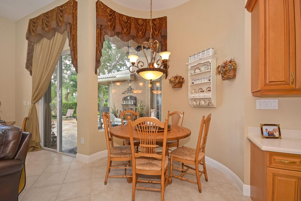 Separate Breakfast Nook