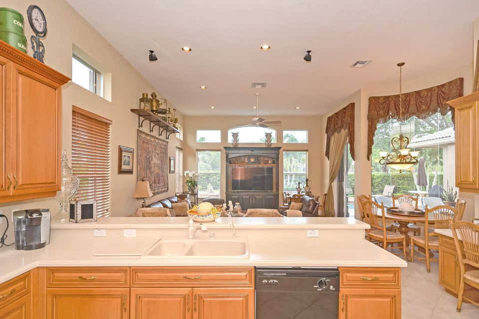 Kitchen Is Open To The Family Room