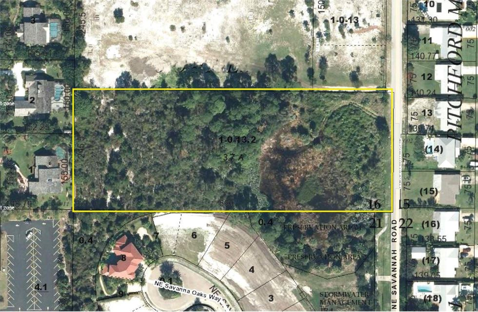 Land for Sale at 3620 NE Savannah Road Jensen Beach, Florida 34957 United States