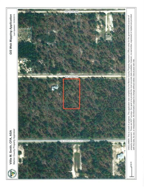 Agricultural Land للـ Sale في SW 128th Terrace SW 128th Terrace Dunnellon, Florida 34432 United States