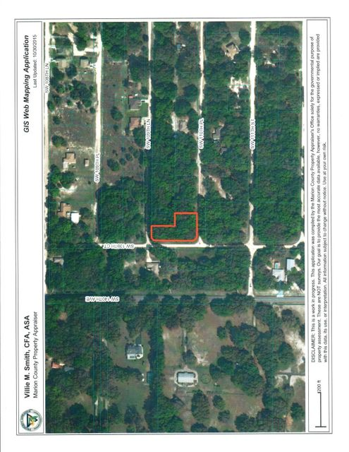 Land for Sale at SW 110th Place Dunnellon, Florida 34432 United States