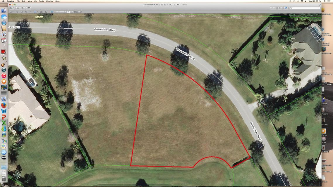 Land for Sale at 2220 Greenbriar Boulevard 2220 Greenbriar Boulevard Wellington, Florida 33414 United States