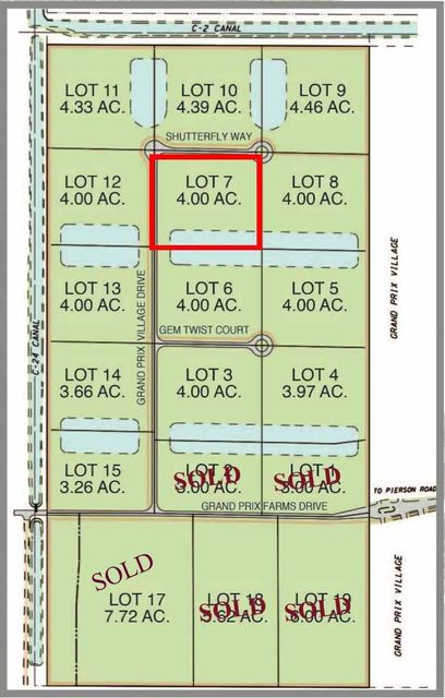 Land for Sale at 3872 Shutterfly Way 3872 Shutterfly Way Wellington, Florida 33414 United States