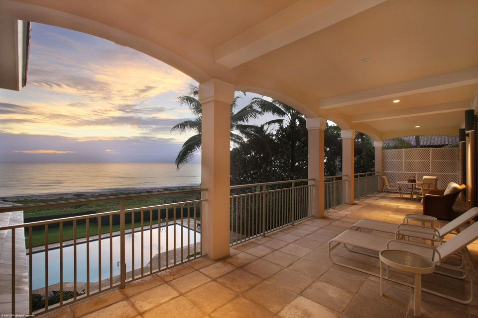 Oceanfront Covered Balcony