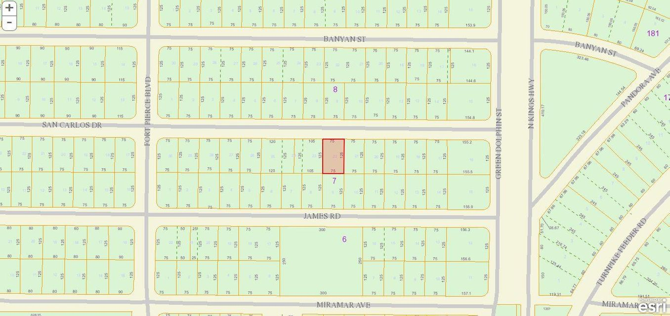 Land for Sale at 7409 San Carlos Drive 7409 San Carlos Drive Fort Pierce, Florida 34951 United States