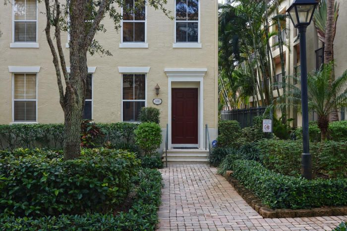 Home for sale in Cityplace Courtyard Townhomes West Palm Beach Florida