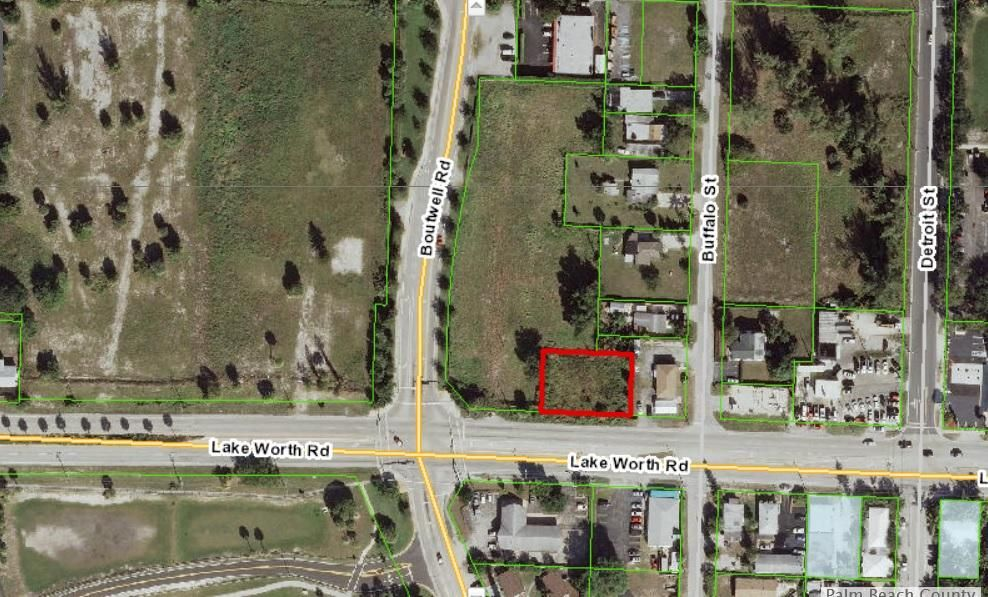 Commercial Land for Sale at 2108 Lake Worth 2108 Lake Worth Lake Worth, Florida 33461 United States