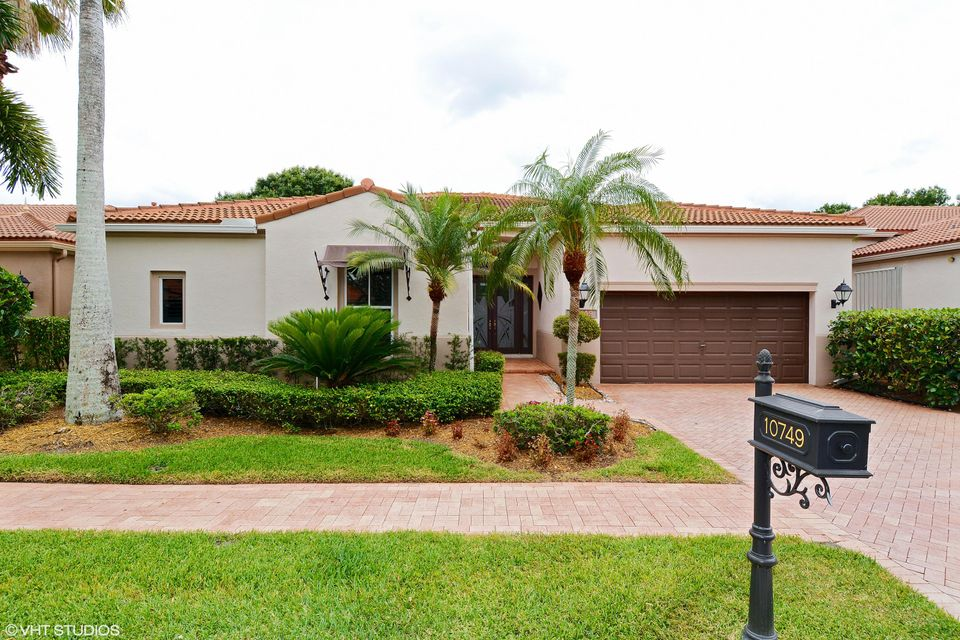 Casa Unifamiliar por un Venta en 10749 Waterford Place 10749 Waterford Place West Palm Beach, Florida 33412 Estados Unidos