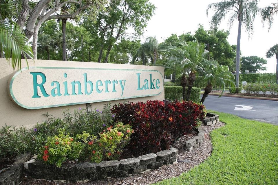 Rainberry lake sign