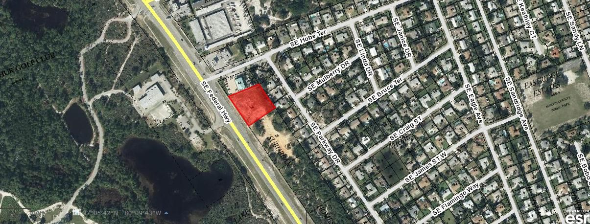 Commercial Land for Sale at 8815 SE Federal Hwy 8815 SE Federal Hwy Hobe Sound, Florida 33455 United States