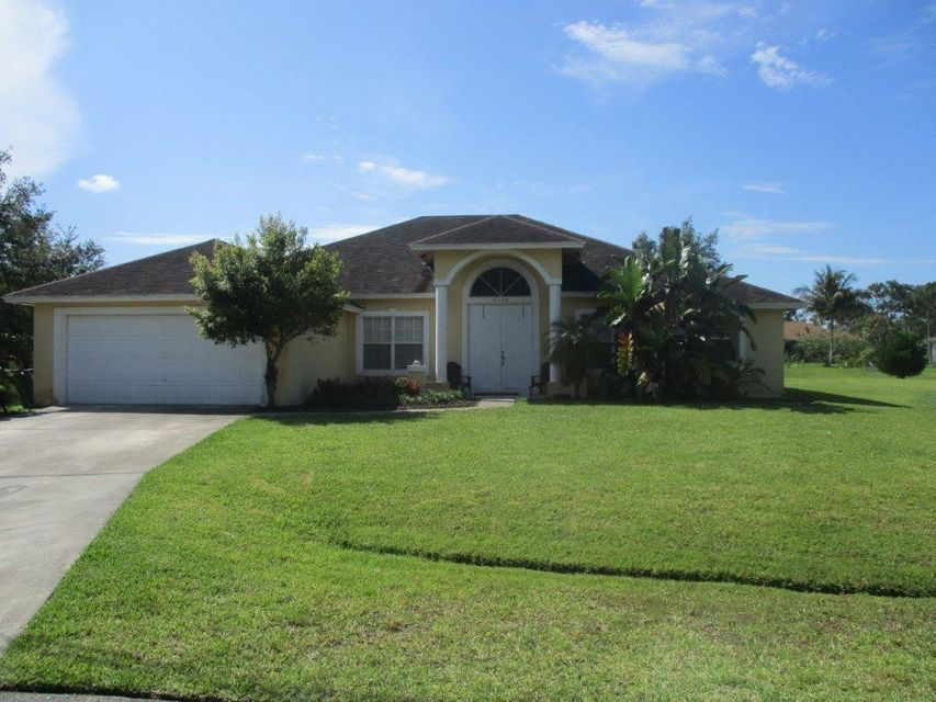 Single Family Home for Sale at 6156 NW Gaylord Terrace Port St. Lucie, Florida 34986 United States