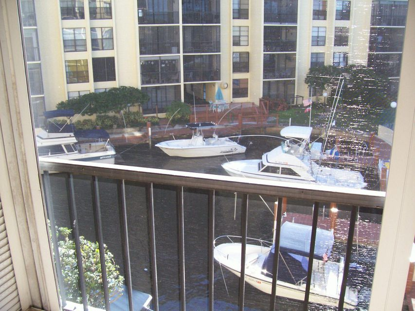 Boca Bayou #20-304 Balcony view to Canal