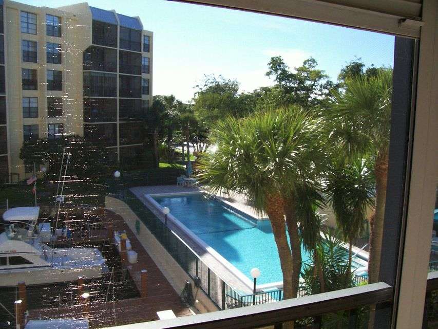 Boca Bayou #20-304 Balcony  View of Pool