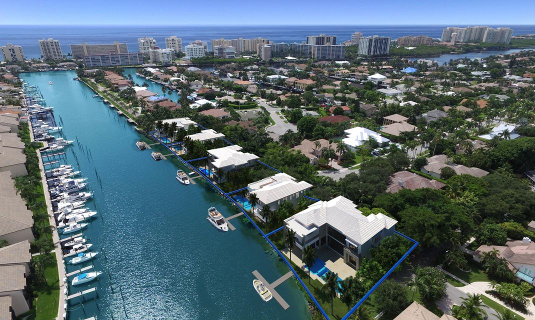أراضي للـ Sale في Lot #1 Spanish Trail Court Boca Raton, Florida 33487 United States