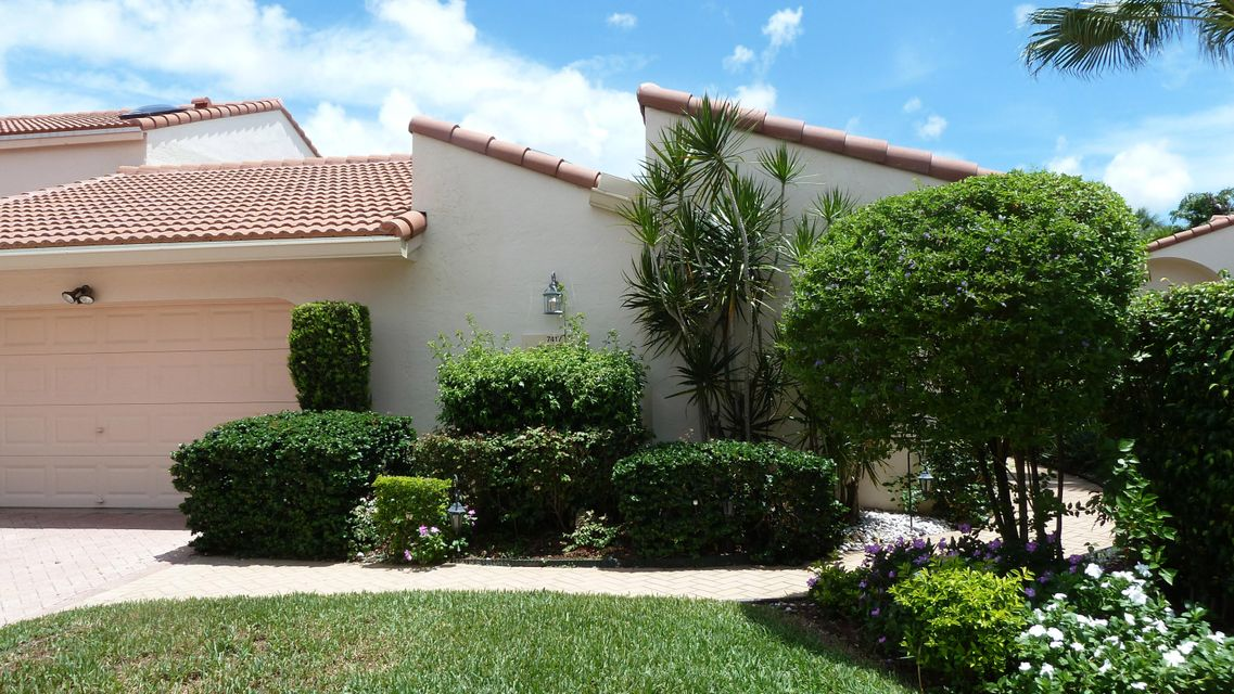 Townhouse for Sale at 7417 Bondsberry Court Boca Raton, Florida 33434 United States