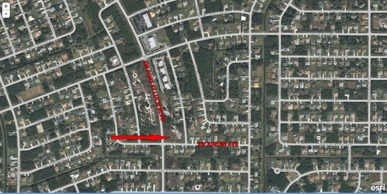 Commercial Land for Sale at 4091 SW Port St. Lucie Boulevard 4091 SW Port St. Lucie Boulevard Port St. Lucie, Florida 34953 United States