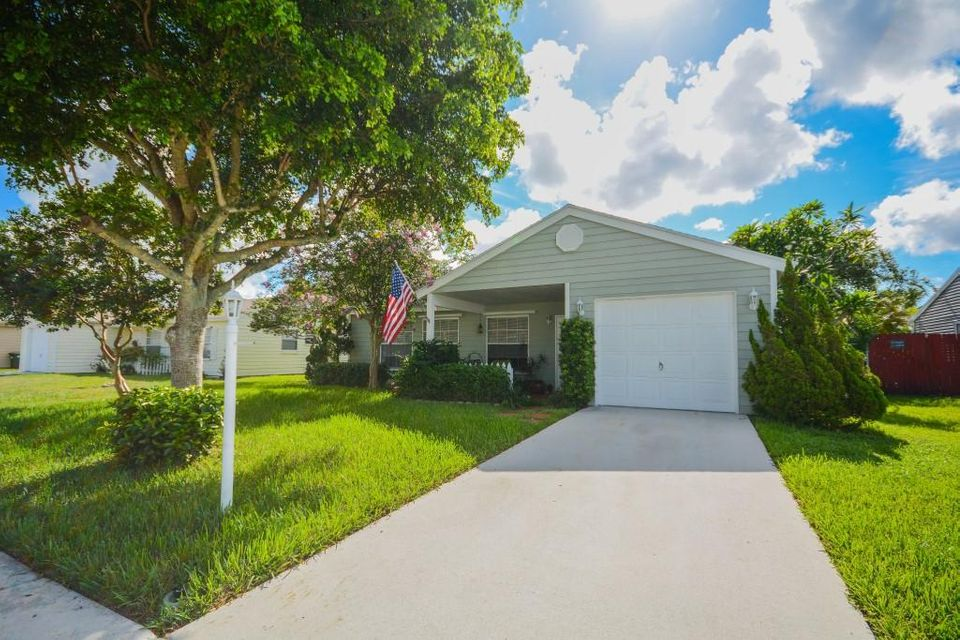 Home for sale in COUNTRYWOOD 4 Lake Worth Florida