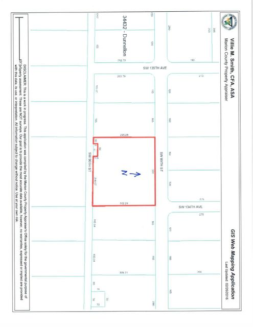 Land for Sale at SW 89th Street SW 89th Street Dunnellon, Florida 34432 United States