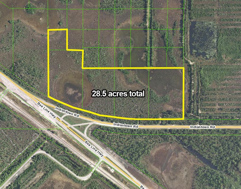 Agricultural Land 为 销售 在 Uu 236+ W Indiantown Road Uu 236+ W Indiantown Road 朱庇特, 佛罗里达州 33478 美国