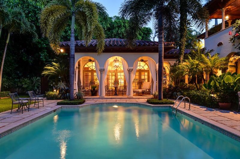 Single Family Home for Sale at 210 El Vedado Road 210 El Vedado Road Palm Beach, Florida 33480 United States