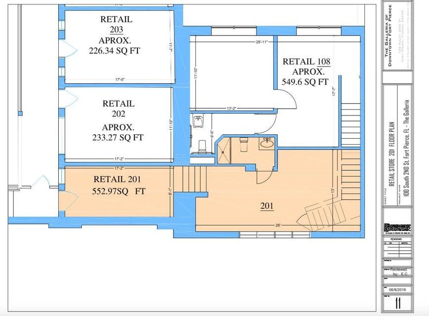 Comercial / Industrial por un Alquiler en 100 S 2nd Street 100 S 2nd Street Fort Pierce, Florida 34950 Estados Unidos
