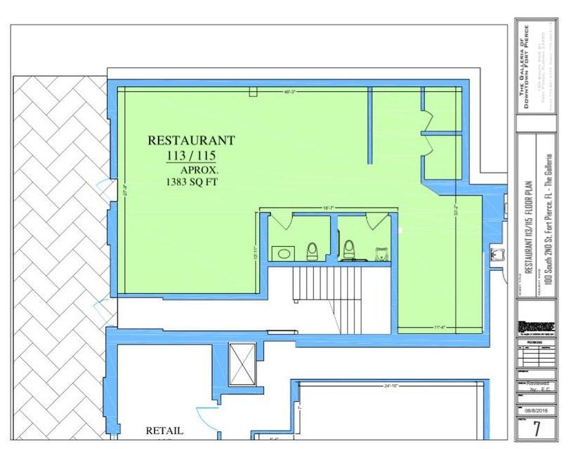 Comercial / Industrial por un Alquiler en 113/115 Orange Avenue 113/115 Orange Avenue Fort Pierce, Florida 34950 Estados Unidos
