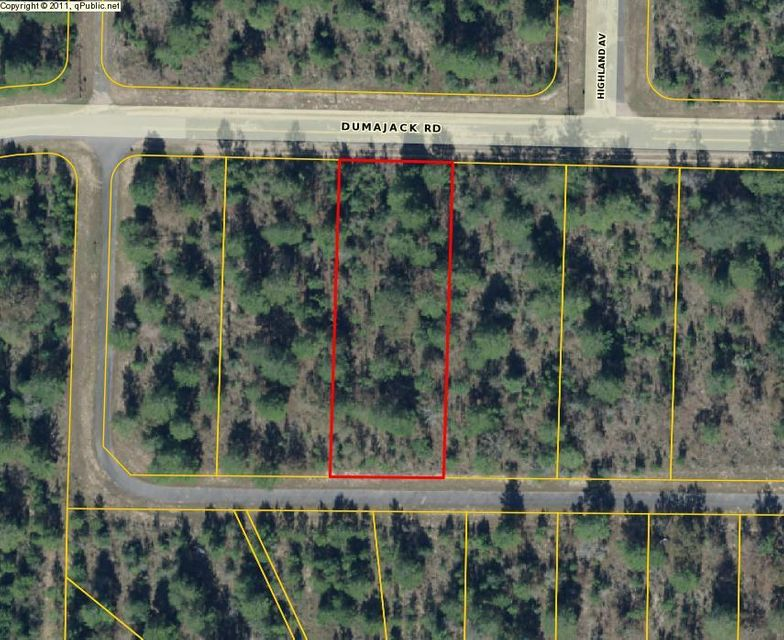 Dumajack Road, Chipley, FL 32428