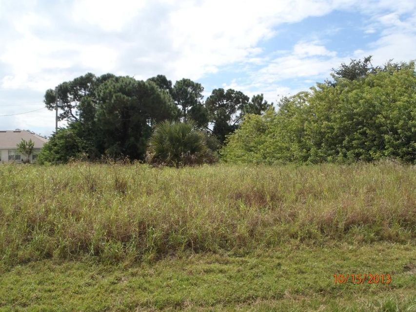 Land for Sale at 599 SW Ester Avenue 599 SW Ester Avenue Port St. Lucie, Florida 34983 United States