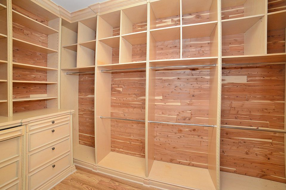 master cedar closet