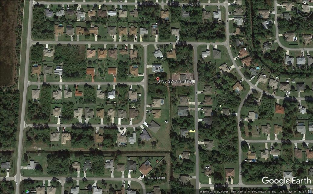 Land for Sale at 3133 SW Aranda Street 3133 SW Aranda Street Port St. Lucie, Florida 34953 United States