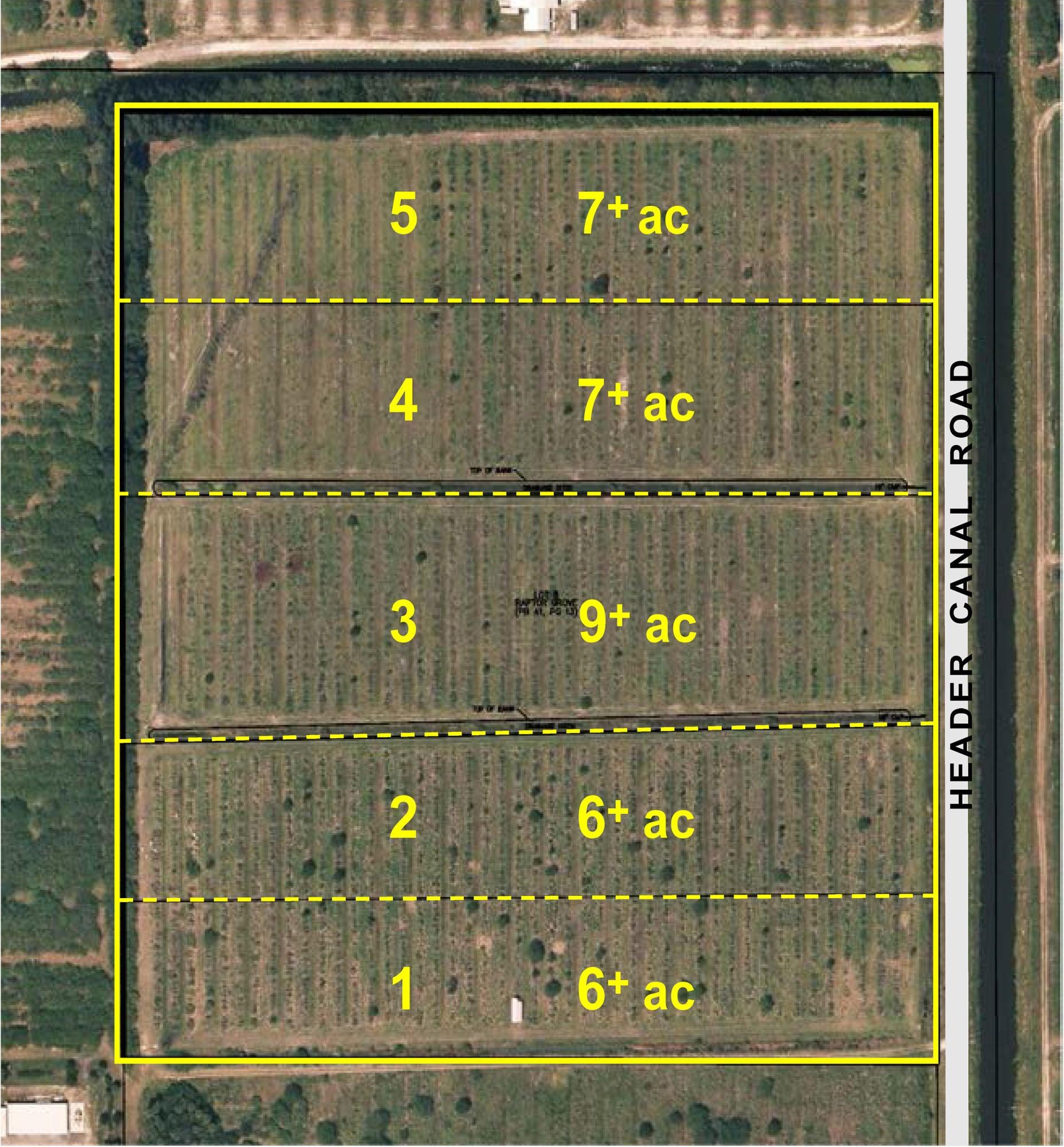 Agricultural Land للـ Sale في 1201 S Header Canal Road 1201 S Header Canal Road Fort Pierce, Florida 34945 United States