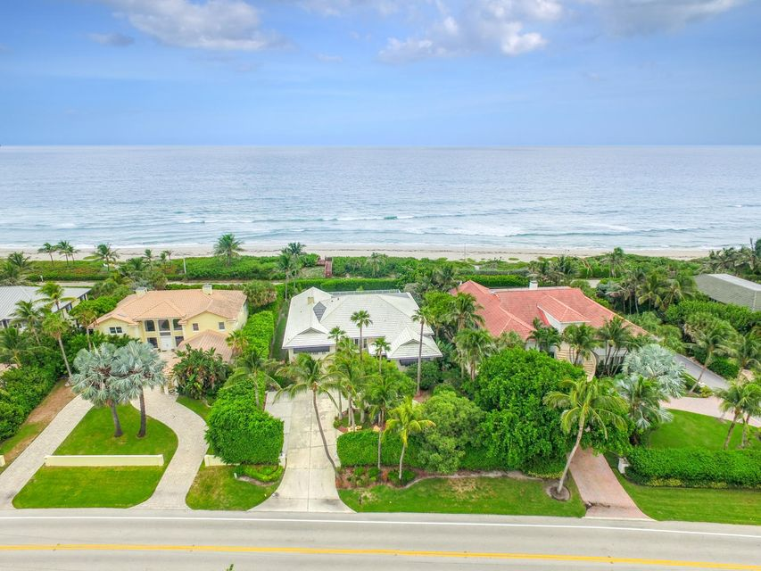 Single Family Home for Sale at 5929 N Ocean Boulevard 5929 N Ocean Boulevard Ocean Ridge, Florida 33435 United States