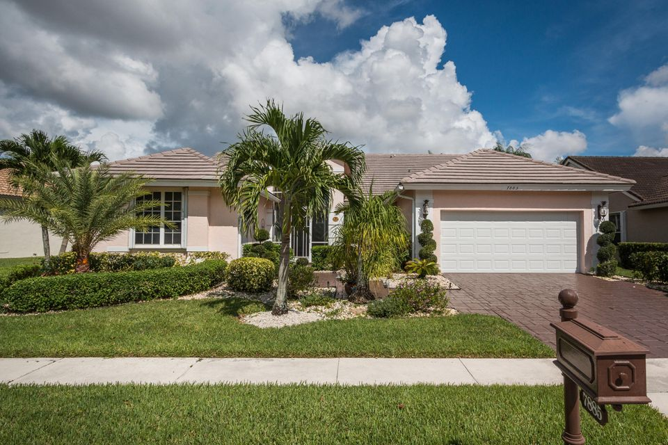 Single Family Home for Sale at 7885 Dorchester Road 7885 Dorchester Road Boynton Beach, Florida 33472 United States