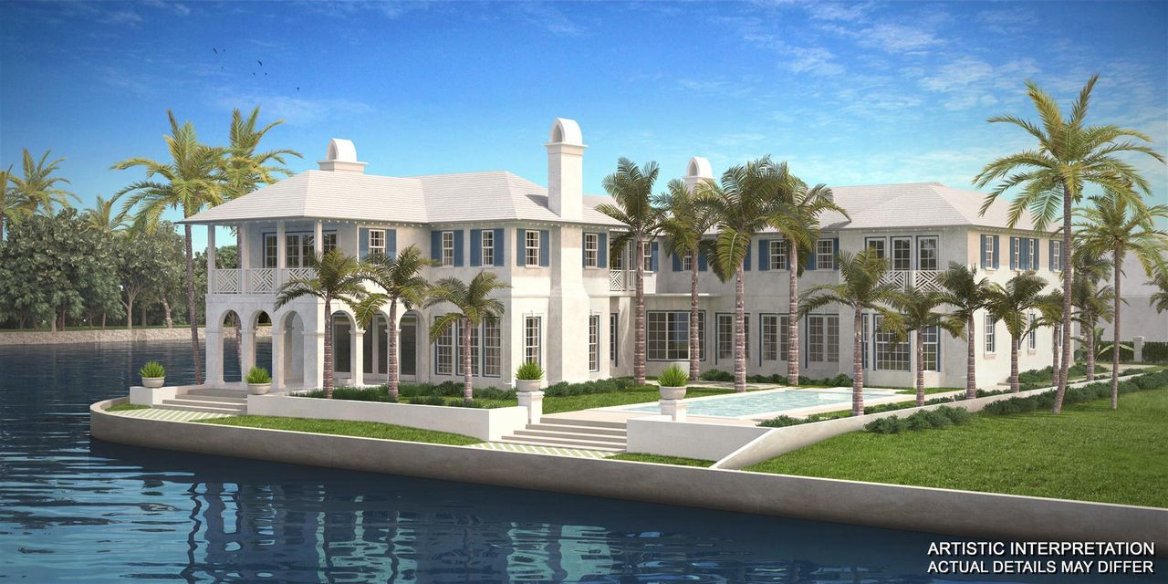 Single Family Home for Sale at 488 Island Drive Palm Beach, 33480 United States
