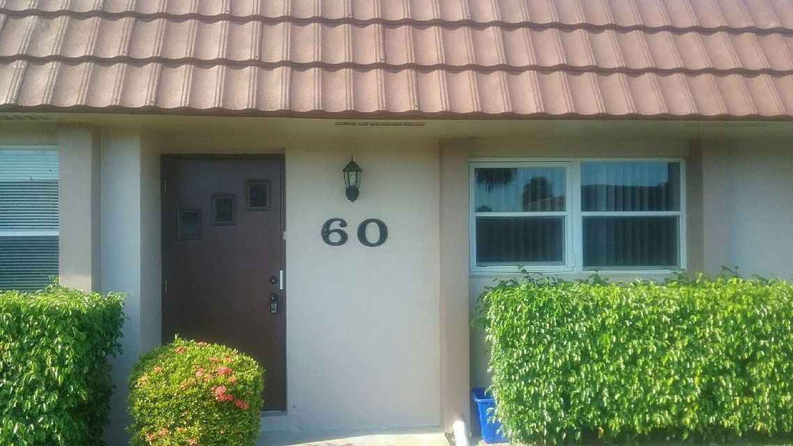 Townhouse for Sale at 5725 Fernley Drive E West Palm Beach, Florida 33415 United States
