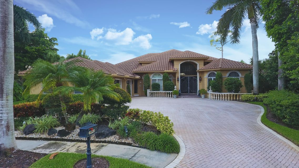 Single Family Home for Sale at 6220 Hollows Lane Delray Beach, Florida 33484 United States