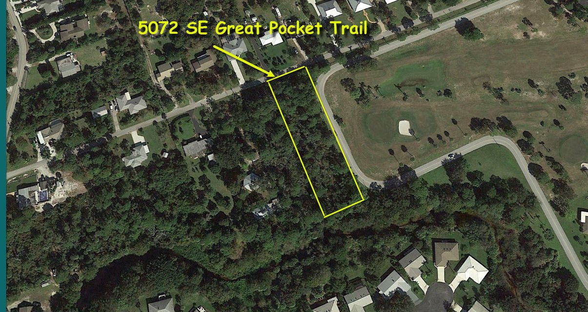 Single Family Home for Sale at 5072 SE Great Pocket Trail 5072 SE Great Pocket Trail Stuart, Florida 34997 United States