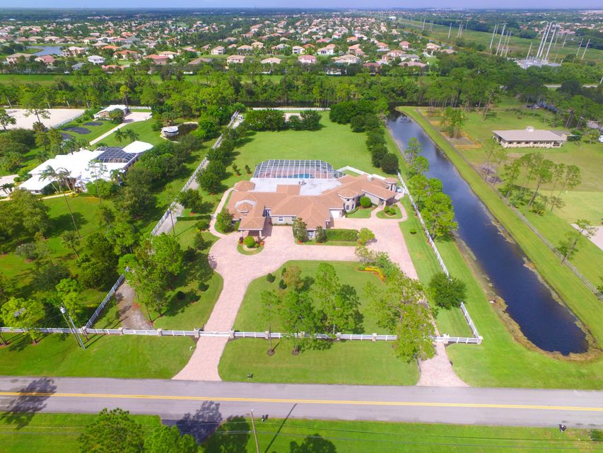 Single Family Home for Sale at 11225 Hawk Hollow Road Lake Worth, Florida 33449 United States
