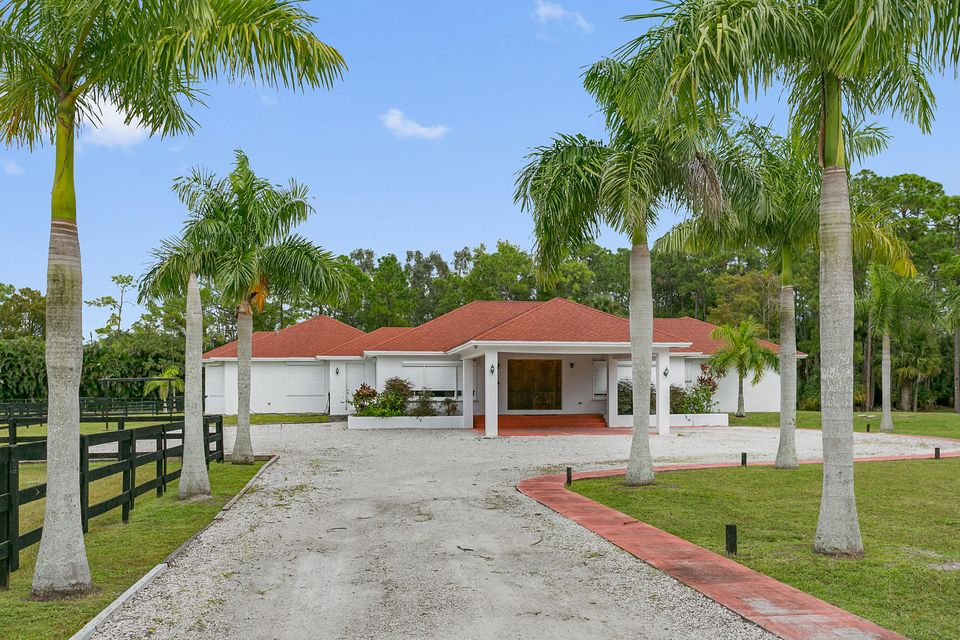واحد منزل الأسرة للـ Sale في 12981 Casey Road Loxahatchee, Florida 33470 United States