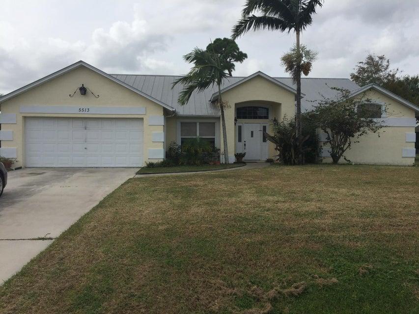 5513 Hickory Drive, Fort Pierce, FL 34982