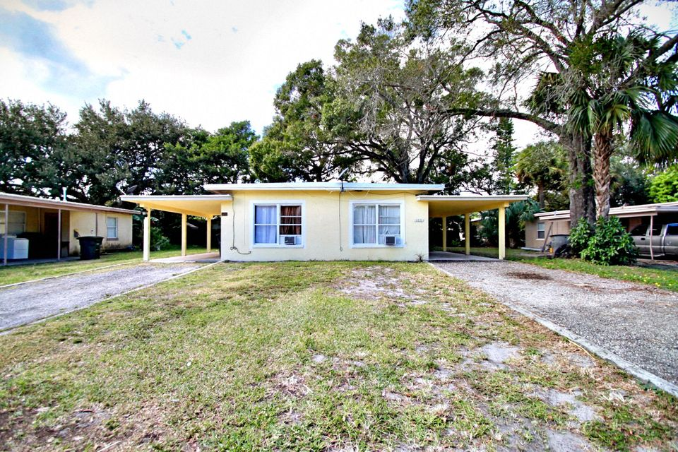 Duplex for Sale at 405 14th Street 405 14th Street Fort Pierce, Florida 34950 United States