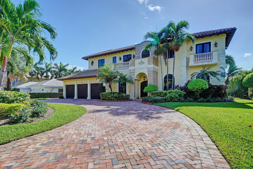 Single Family Home for Sale at 174 E Camino Real Boca Raton, Florida 33432 United States