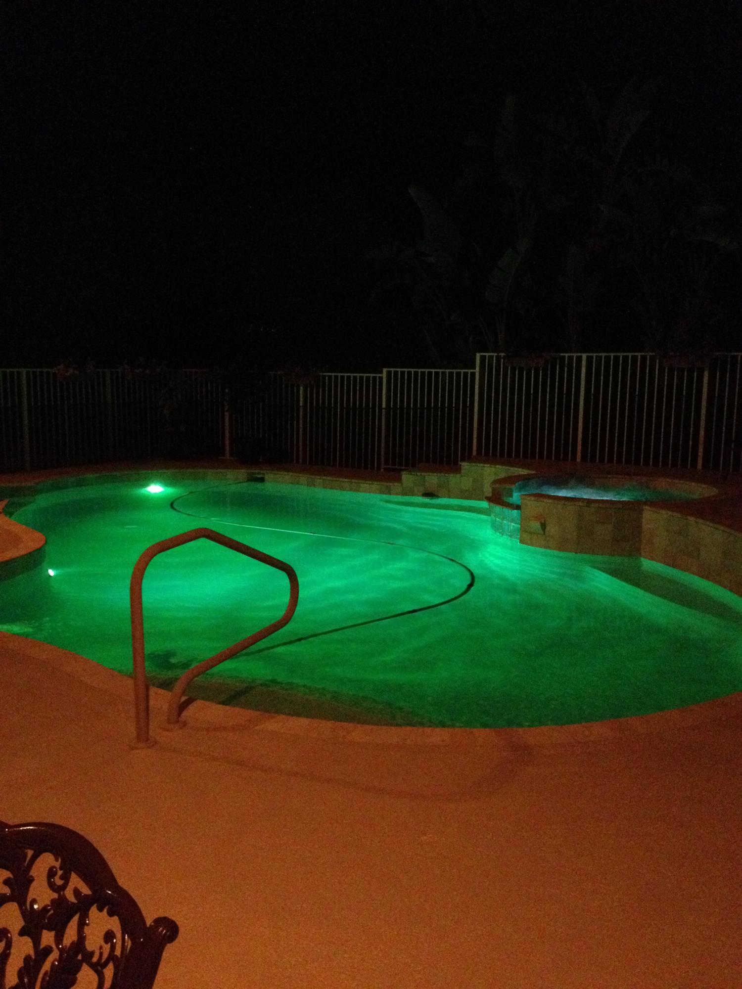 Saturnia house pool