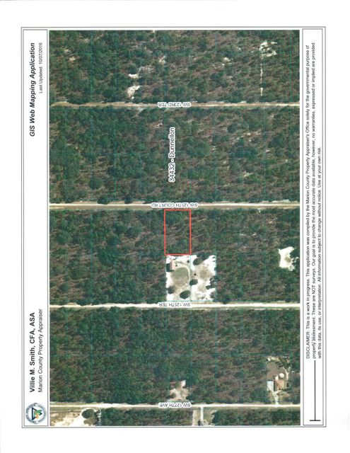 Land for Sale at SW 125 Court Dunnellon, Florida 34432 United States